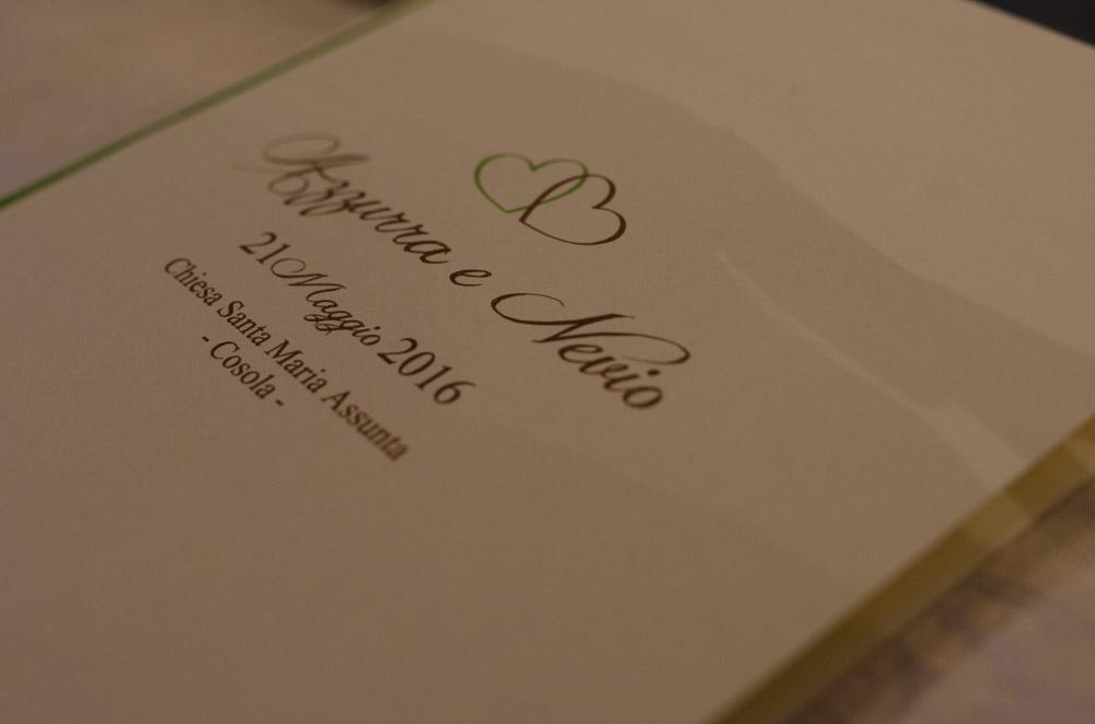 libretto matrimonio personalizzato